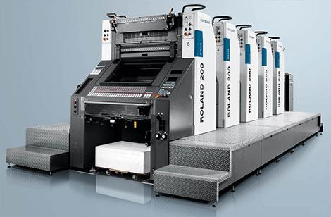Печатная машина Roland 200